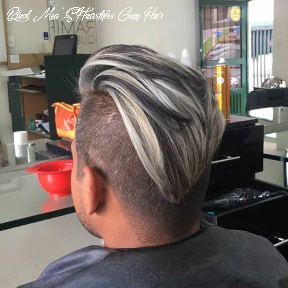 9 Best Men's Hairstyles for Gray/Silver Hair in 9 - Next Luxury