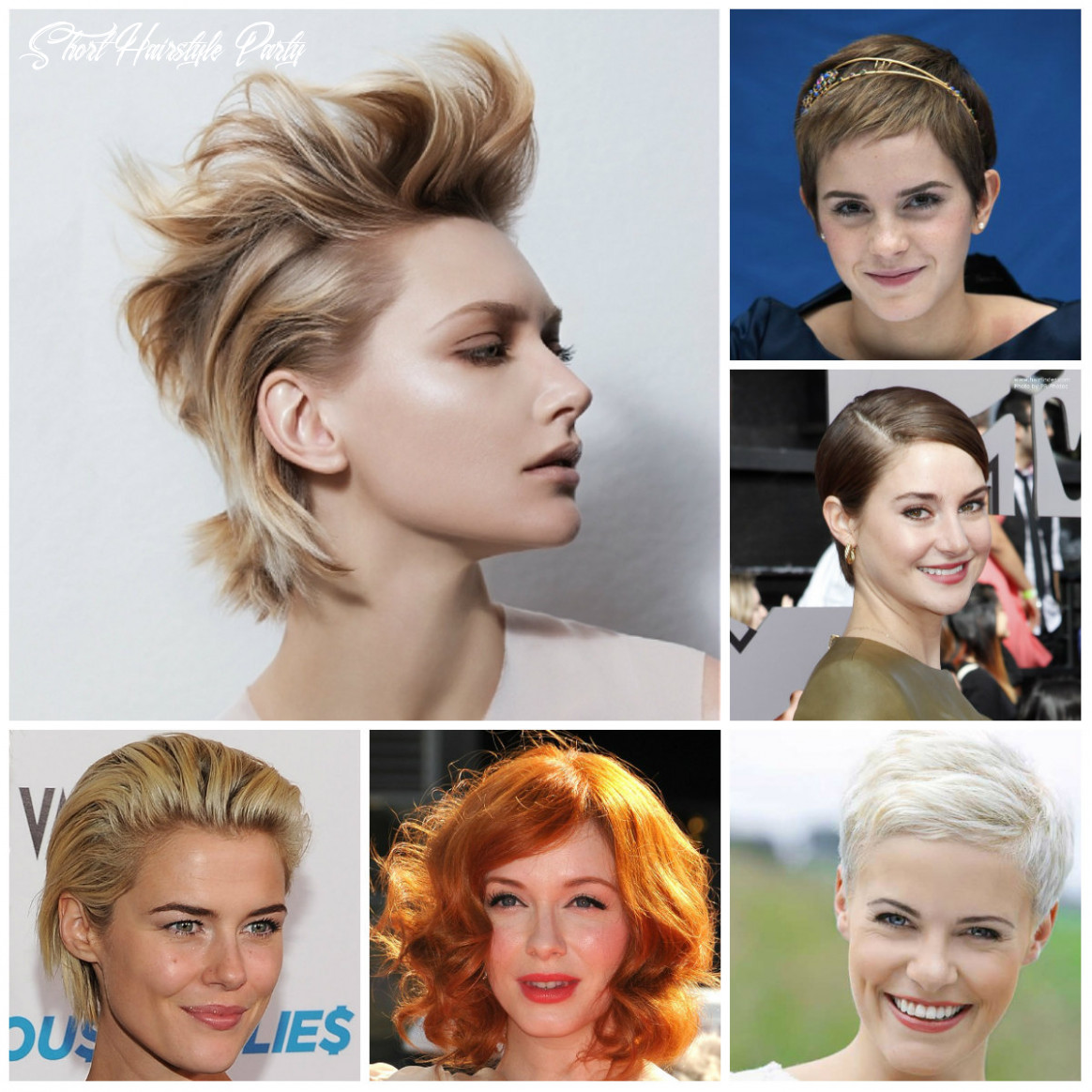 9 Best Party Hairstyles for Short Haircuts   9 Haircuts ...
