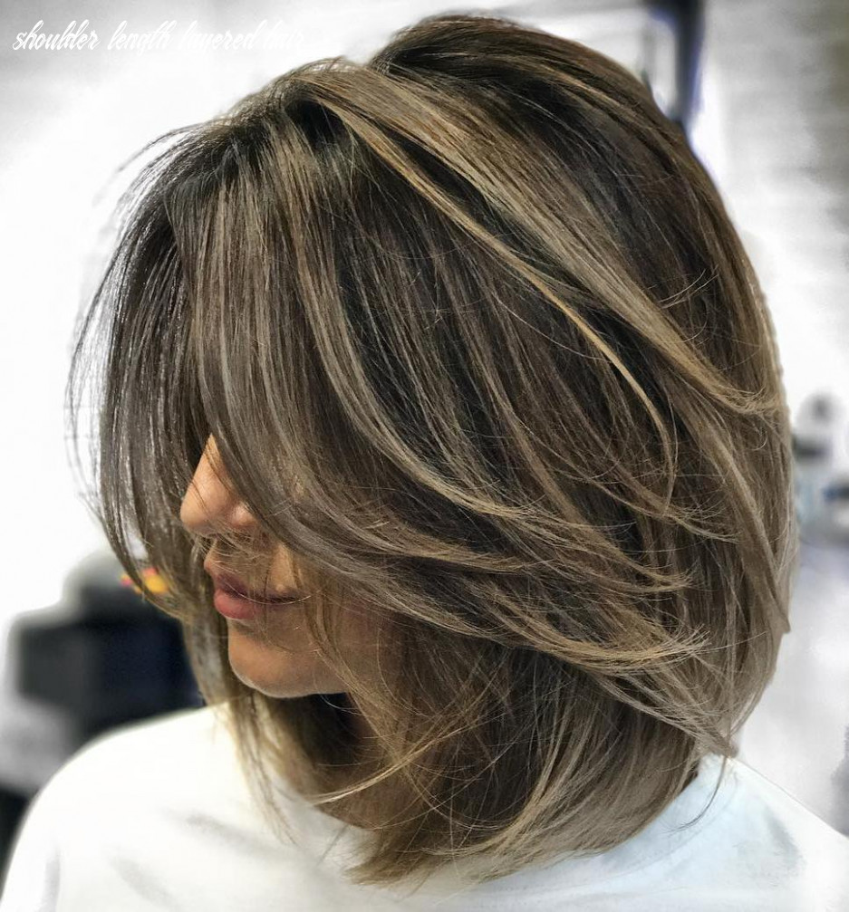 A layered hairstyles: Haircut that makes you styled – fashionarrow.com