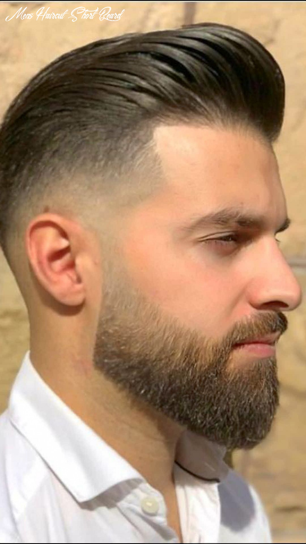 BEARDED ?? GORGEOUS WITH HAIRSTYLE !! | Beard styles short, Best ...
