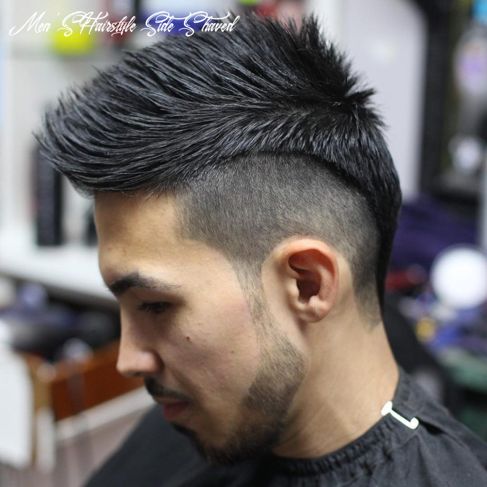 Best 8 Shaved Sides Hairstyles and Haircuts for Men - AtoZ Hairstyles