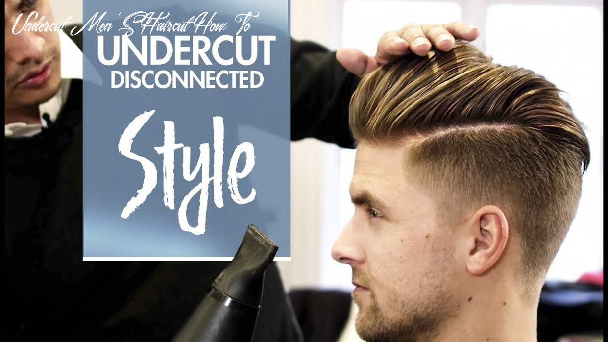Disconnected Undercut - Men's hair & styling Inspiration - 9k hairstyle