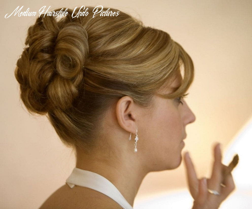 Easy hairstyles for medium hair updos - Hairstyles for Women