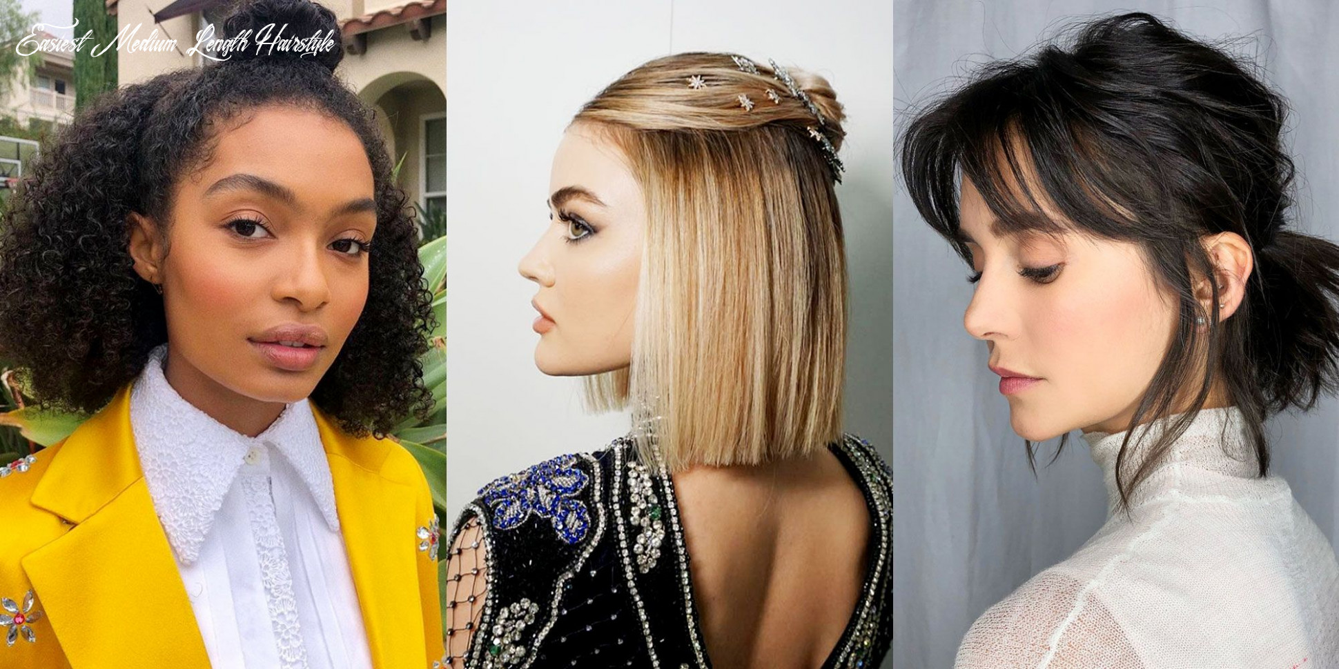 Easy Medium Hairstyles - How to Style Mid-Length and Shoulder ...