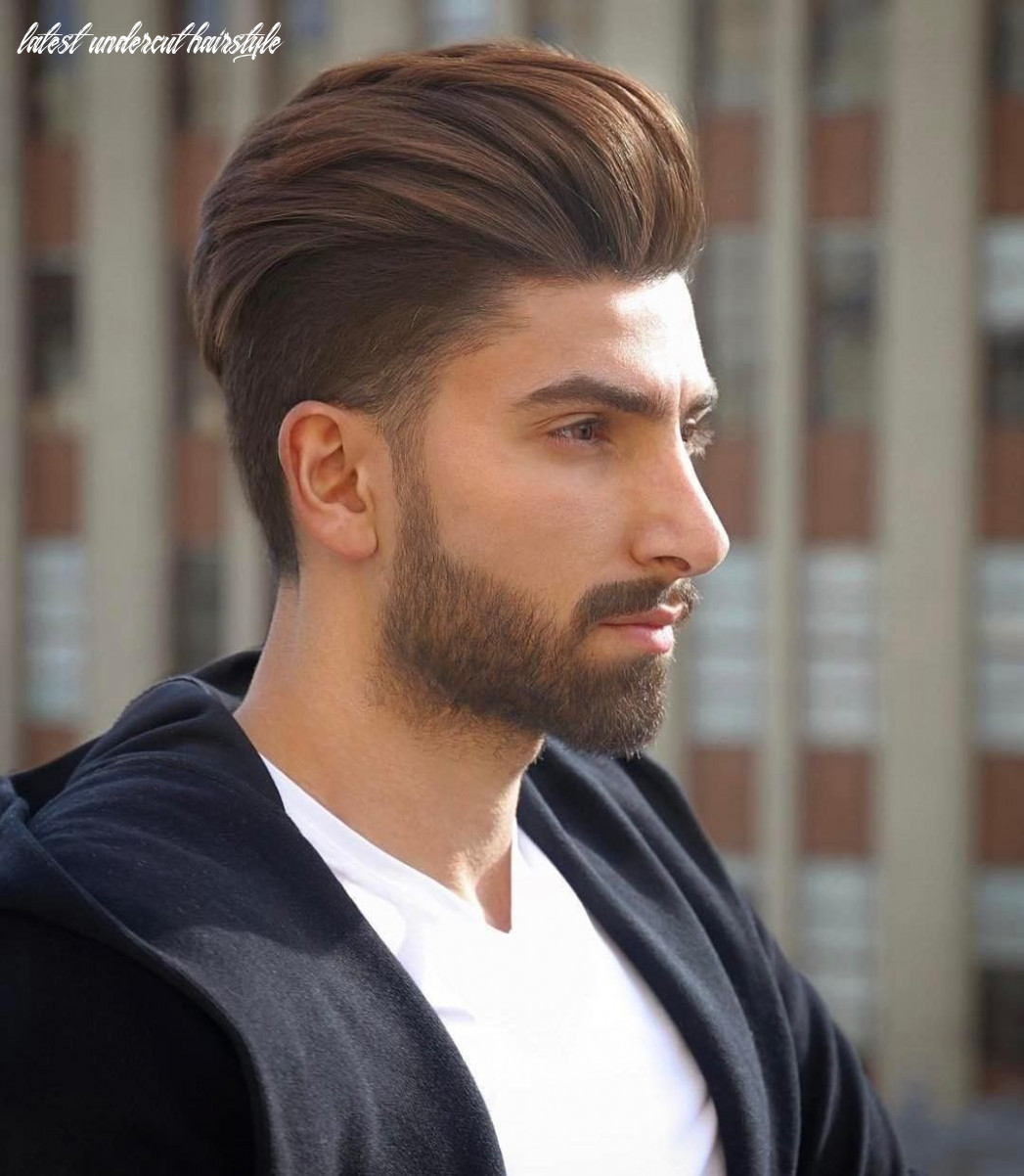 Get this Hairstyle - Undercut with a High Volume Backcombed ...