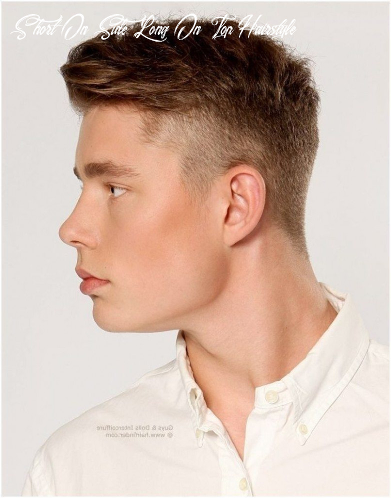 Hairstyles For Boys Long Top Short Side in 10 | Mens hairstyles ...