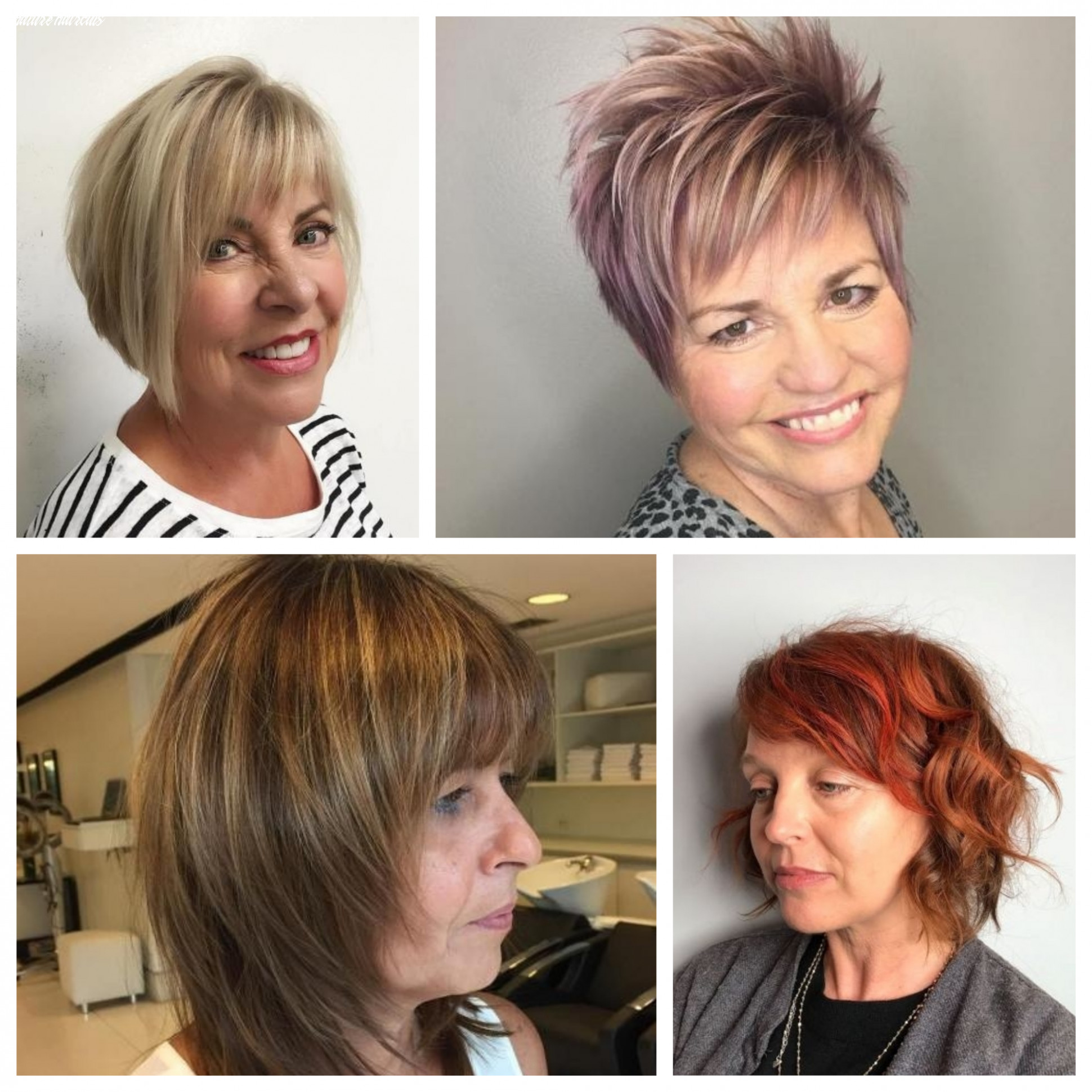 Hairstyles for Mature Women | 12 Haircuts, Hairstyles and Hair ...