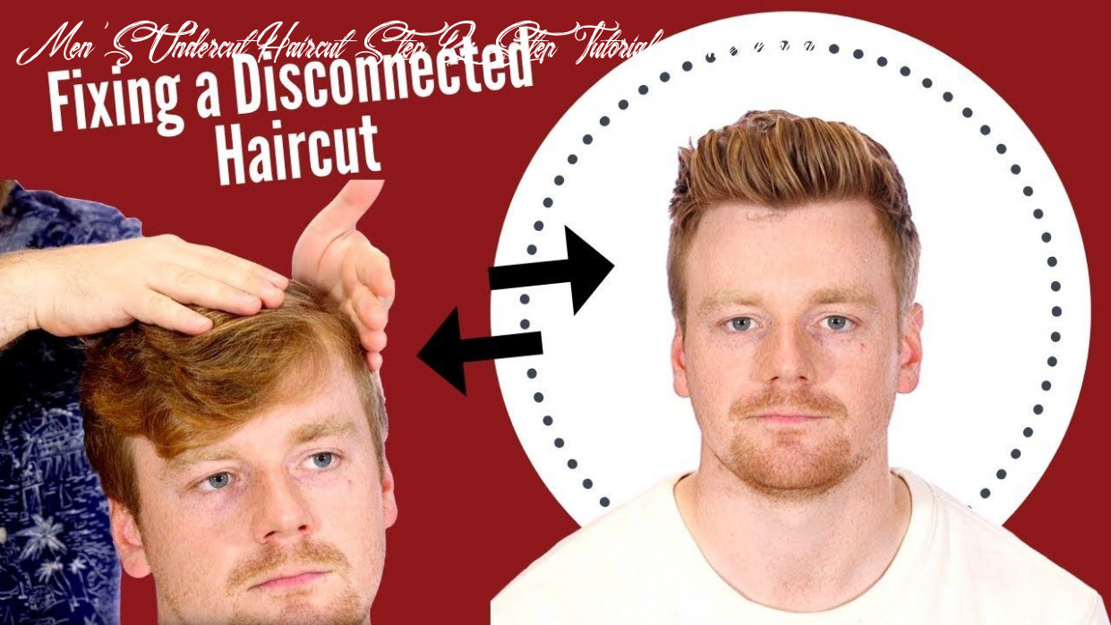 How to Blend a Disconnected Undercut - MUST WATCH - TheSalonGuy ...