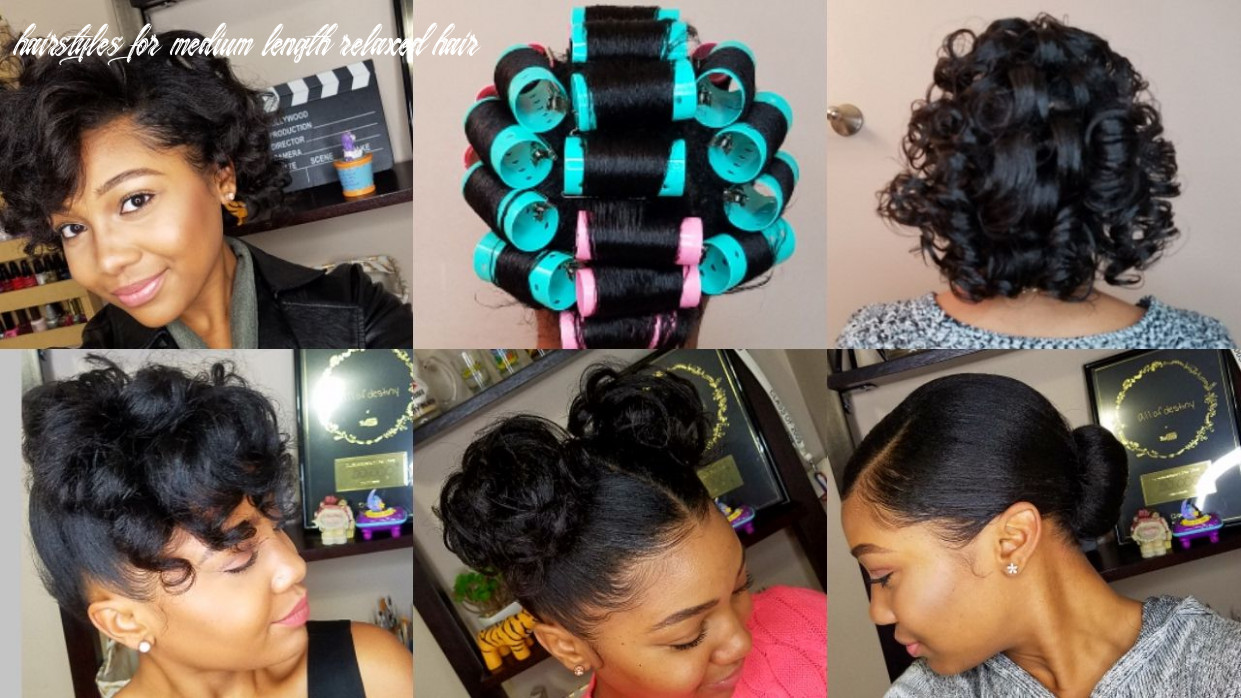 HOW TO ROLLER SET HAIR | Roller set hairstyles, Roller set natural ...