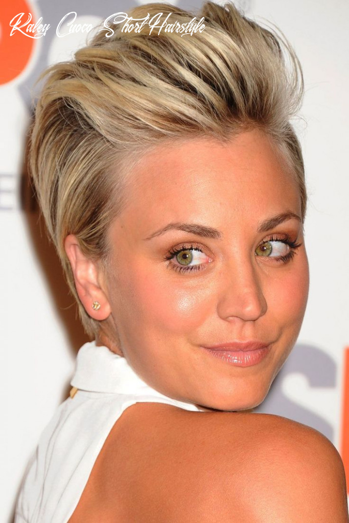 Kaley Cuoco Wows With A Quiff Short Hairstyle At The ASPCA ...