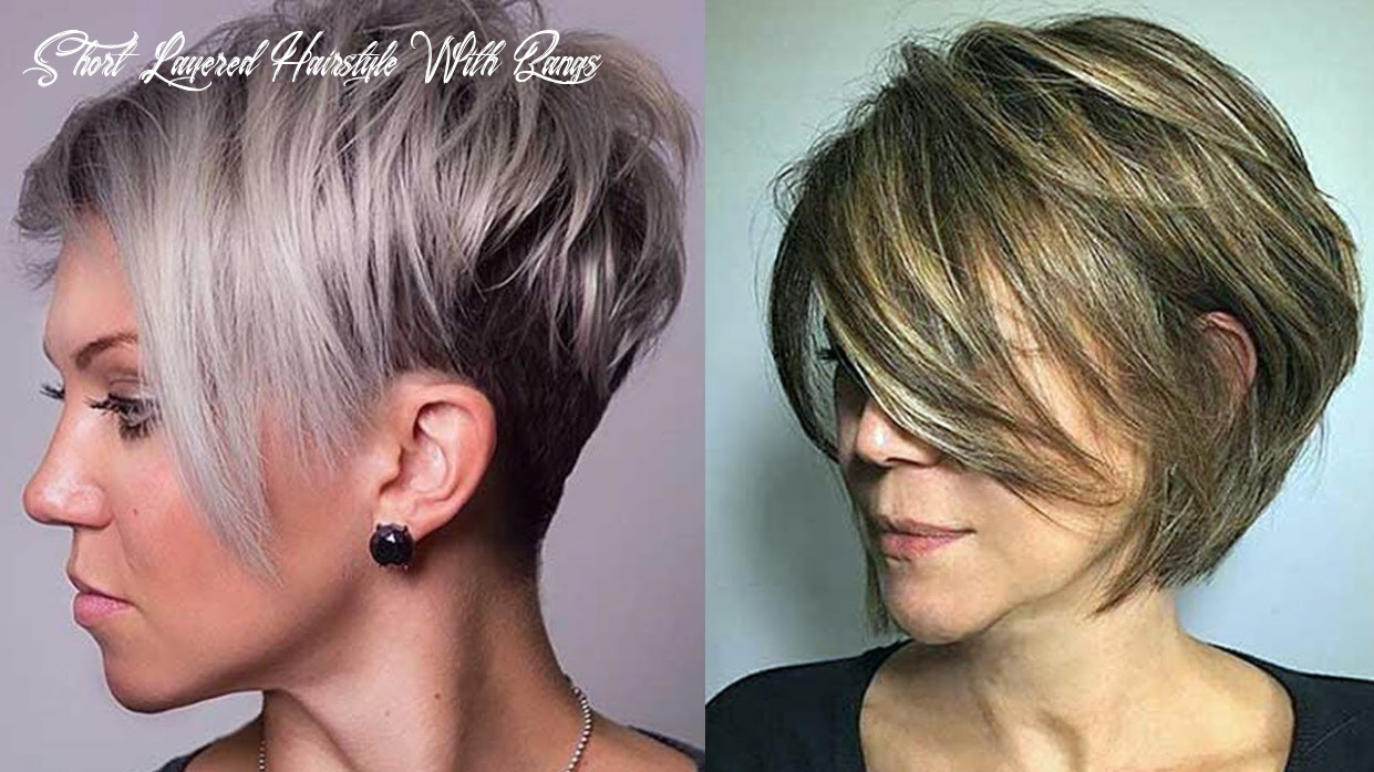 Layered Haircuts for Short Hair 9 - Short Layered Hairstyles for Women