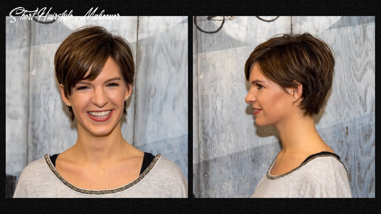 long to short pixie haircut women   hair makeover   hairstyle by Alves &  Bechtholdt