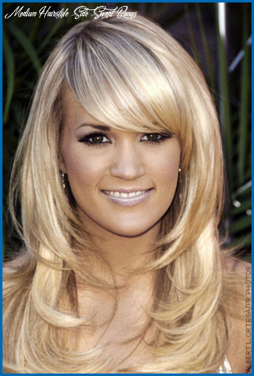 Medium Haircuts Side Swept Bangs | Find your Perfect Hair Style