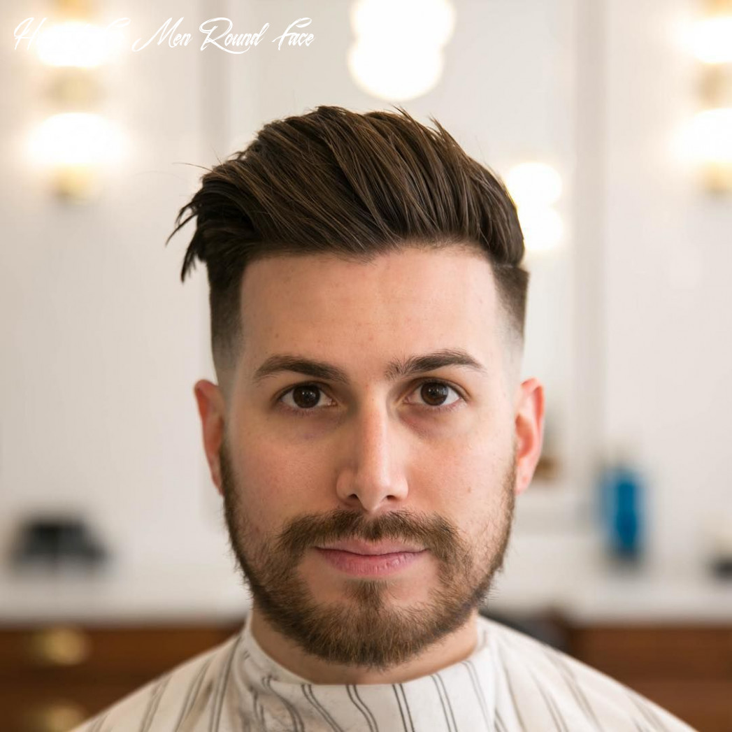 Men Hairstyle 9 For Round Face - Verzameling