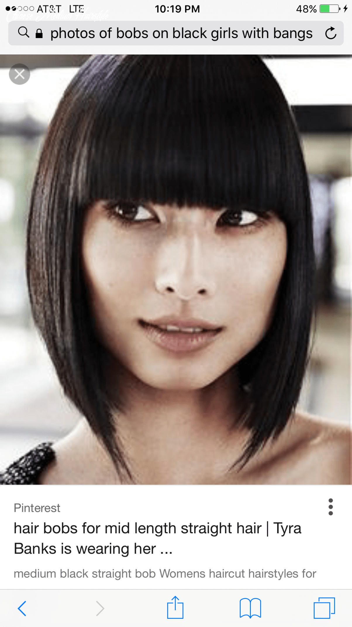 Pin by Ashley Sumpter on I want this ☺️   Chinese bob hairstyles ...