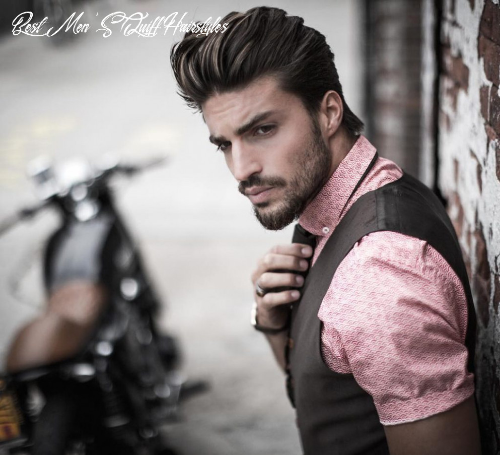 Quiff Hairstyles for Men - 10 Trendy Mens Modern Quiff Haircut to ...