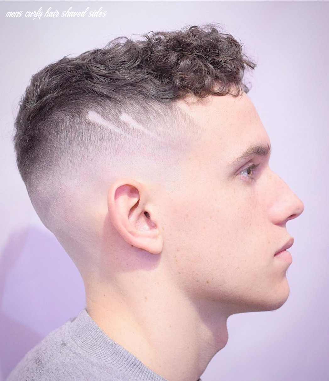 Shaved Sides Haircuts -> 9 Cool Fade Styles For 9