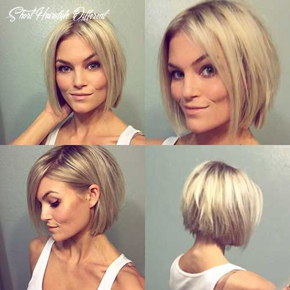 Short Bob Hairstyles For Women With Different Type Of Hair & Face ...