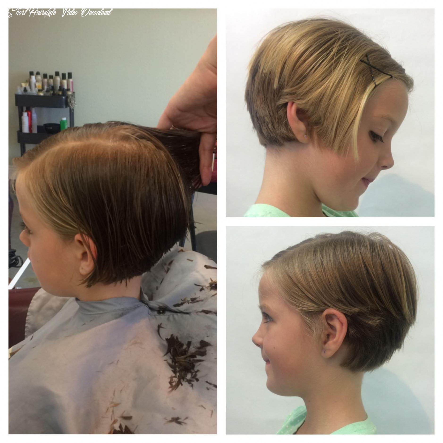 Short hairstyle for girl child for Android - APK Download