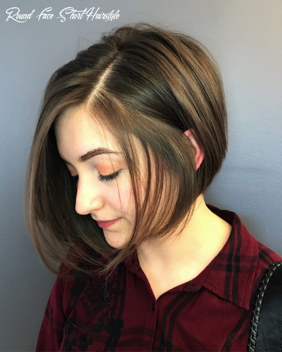 Short Layered Hairstyles Round Faces