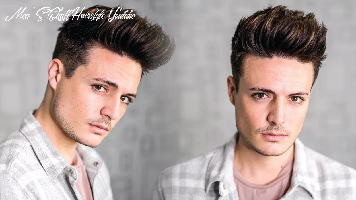Super Easy Texture Quiff Hairstyle Tutorial 12 | Mens New Year New Hair!  | BluMaan 12