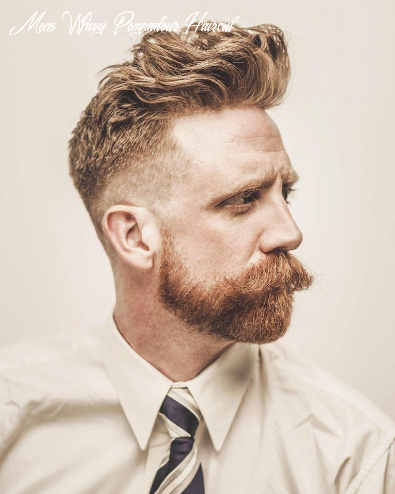 Top 12 Pompadour Hairstyles for 12 | Cool hairstyles for men ...