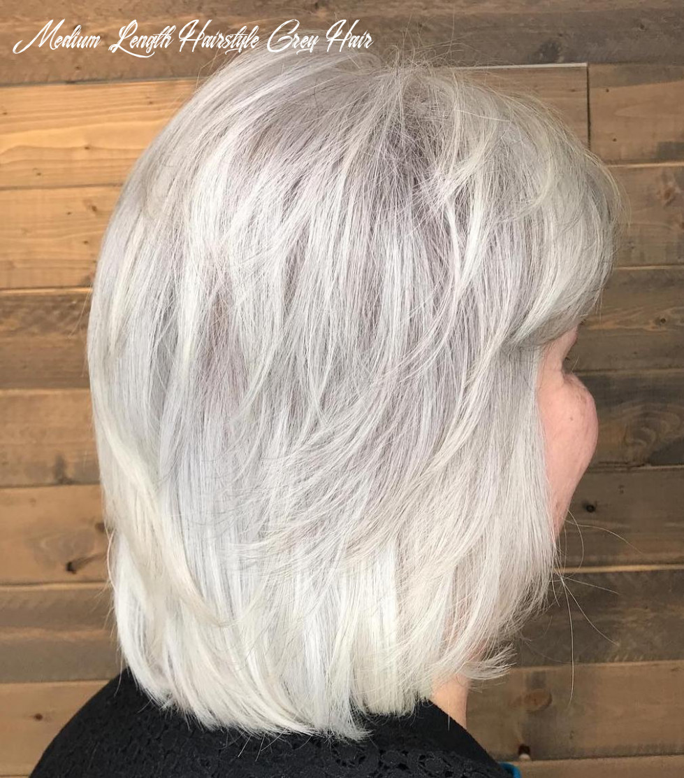 Wavy Hair Hairstyles For Over 9 Grey Hair - Haircut Today