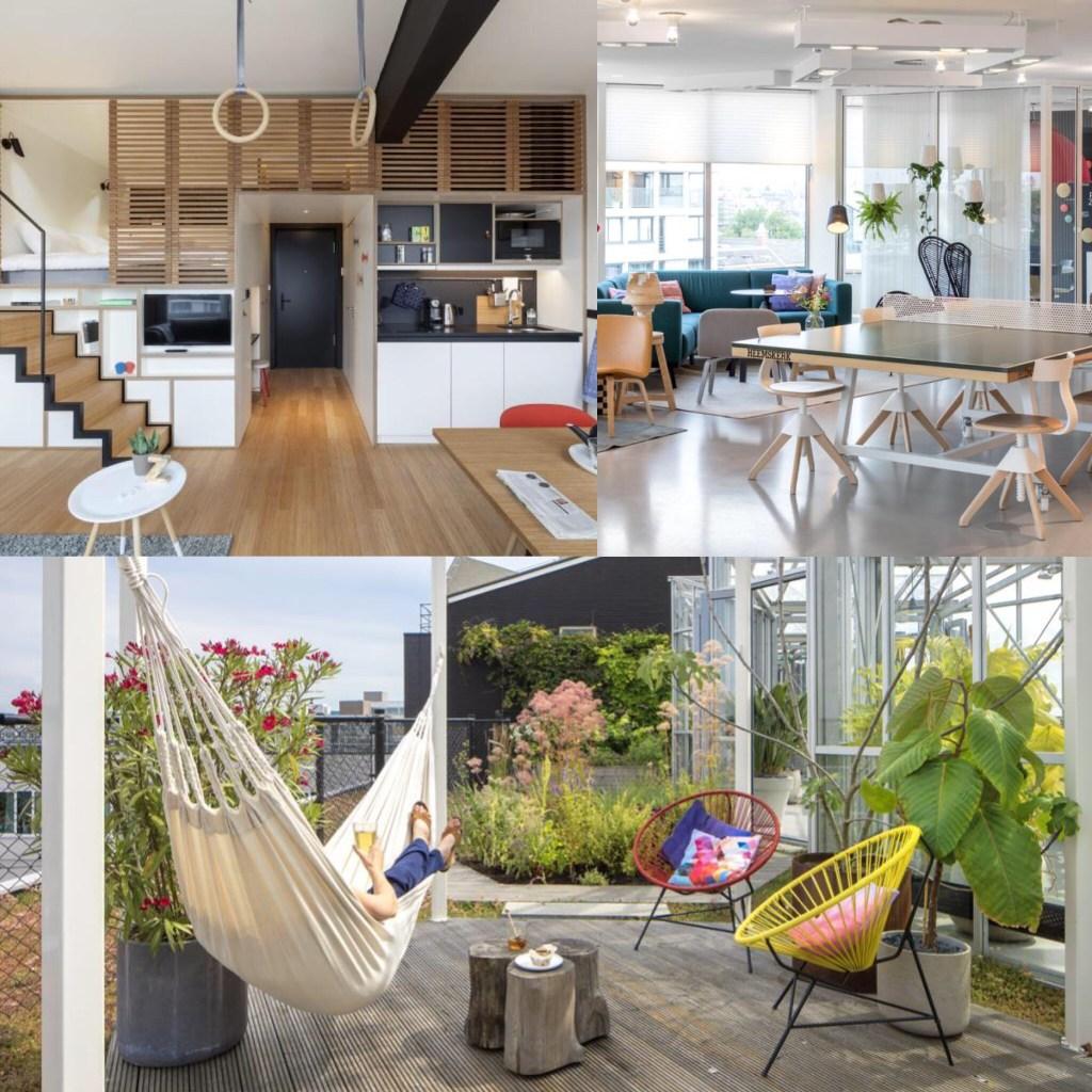 阿姆斯特丹住宿推薦公寓型飯店 Zoku