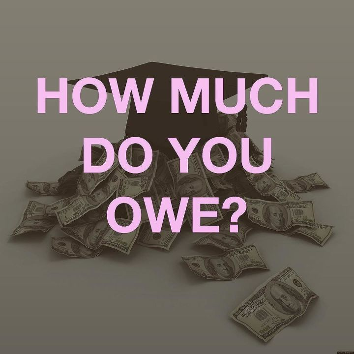 Tag someone you know in Student Loan Debt.  Also how much do you owe?