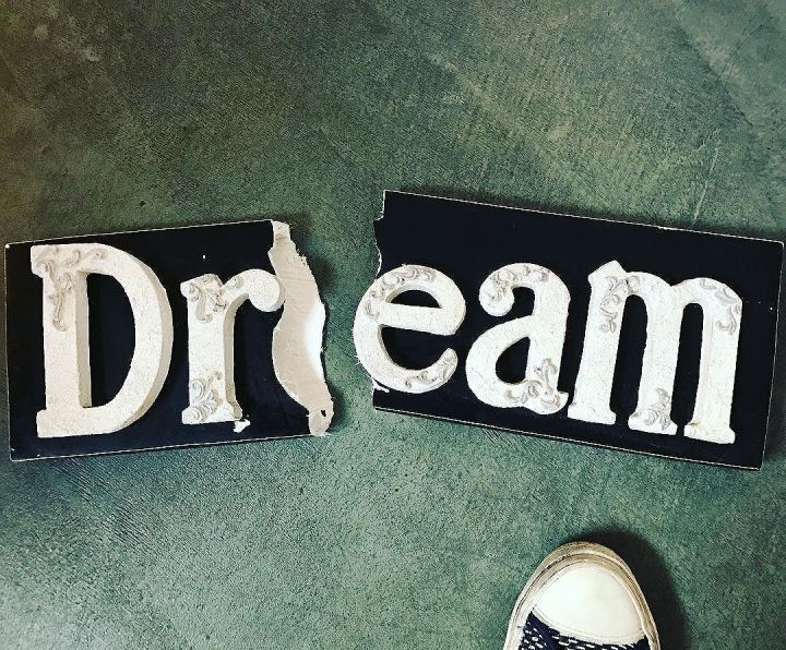 Broken Dream - how apropos - found on the street today.