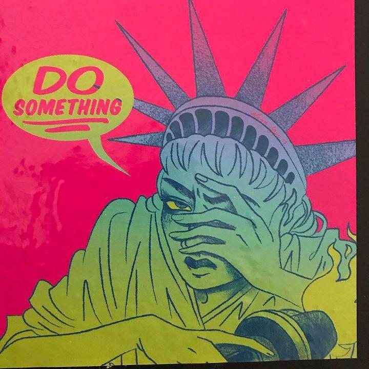 Do something! Statue of Liberty @elizafrye