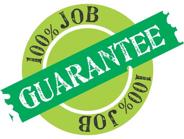 Job Guarantee FAQ – Underground Network