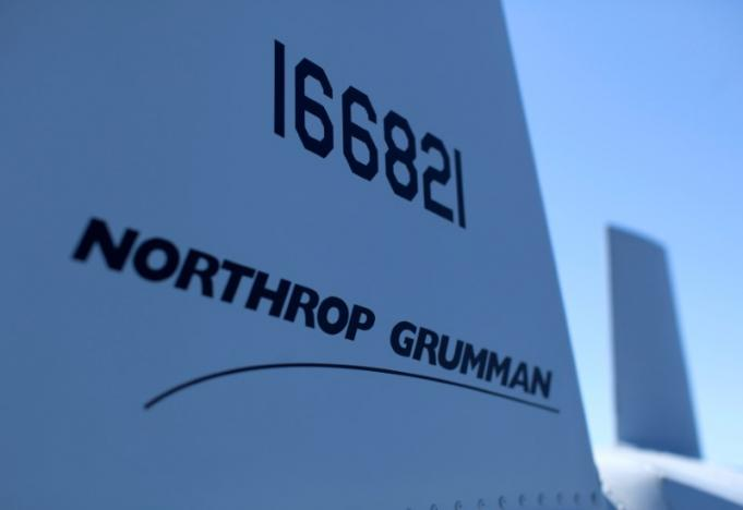 A UAV helicopter build by Northrop Gruman is on deck aboard the soon to be commissioned littoral combat ship USS Coronado during a media tour in Coronado, California April 3, 2014. REUTERS/Mike Blake/File Photo