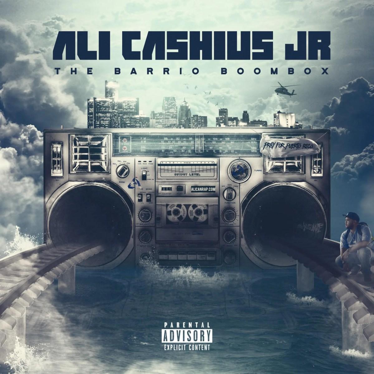 """Ali Cashius Jr - """"The Barrio Boombox"""" (Album)"""