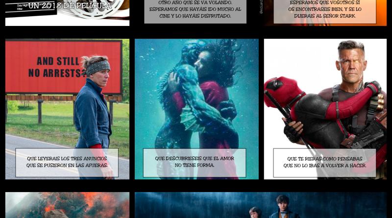 Viñeta: 2018,un año de película