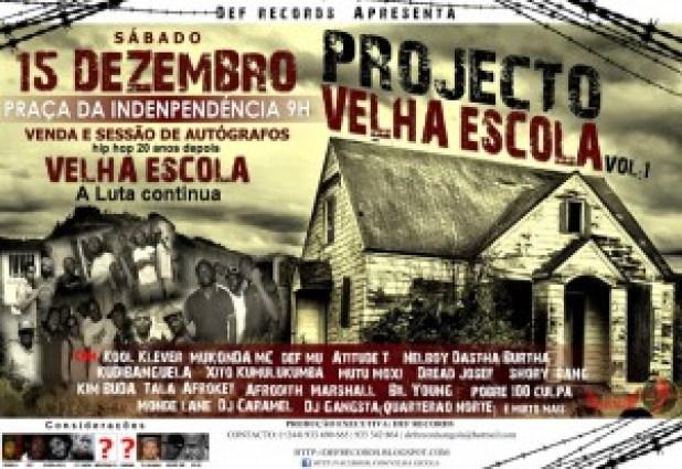 Projecto Velha Escola - Venda e Sessão de Autógrafos 15/12/2012