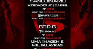 Kano Kortado Apresenta: No Dia 17 de Dezembro 2 Tracks Promocionais do Sanguinario & God G
