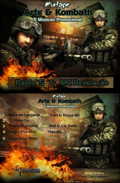 """Pablo`S & MC Revelação - Mixtape """"Arte & Kombath"""" (Promo) [Download Gratuito]"""