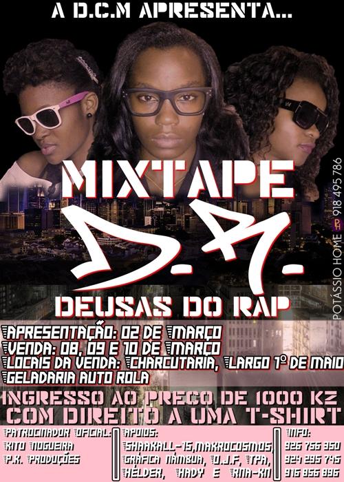 """Deusas Do Rap - Apresentação da Mixtape """"DR"""""""