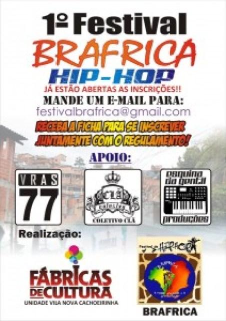 Festival Brafrica De Hip Hop Na Zona Norte De São Paulo