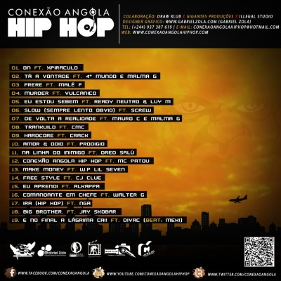 """O Blog Conexão Angola Hip Hop Apresenta - Mixtape """"Conexão Angola Hip Hop"""""""