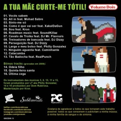 Dom Rubirosa - A Tua Mãe Curte-me Tótil Vol.2