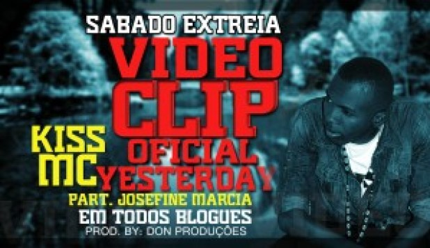 Anuncio do lançamento do clipe do rapper Kiss Mc
