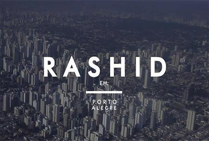 Rashid disponibiliza vídeo com imagens de show em Porto Alegre/RS