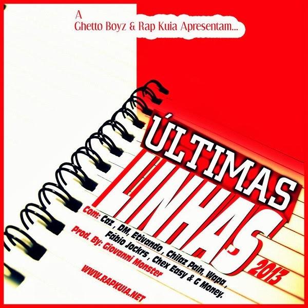 "Áudio: Rap Kuia - Últimas Linhas ""2013"" (Prod. Giovanni Monster)"