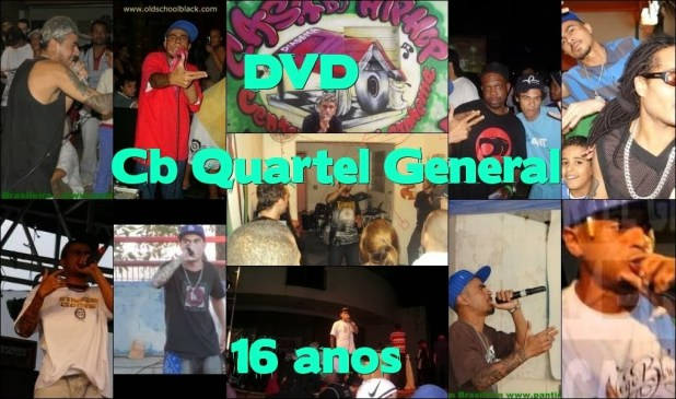 DVD - CB Quartel General 19 anos‏