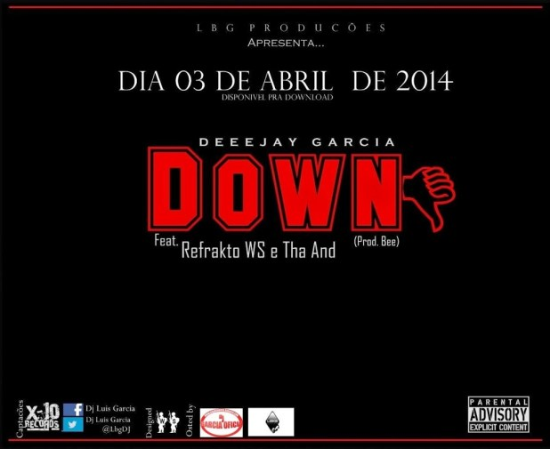 Áudio: Dj Garcia - Down