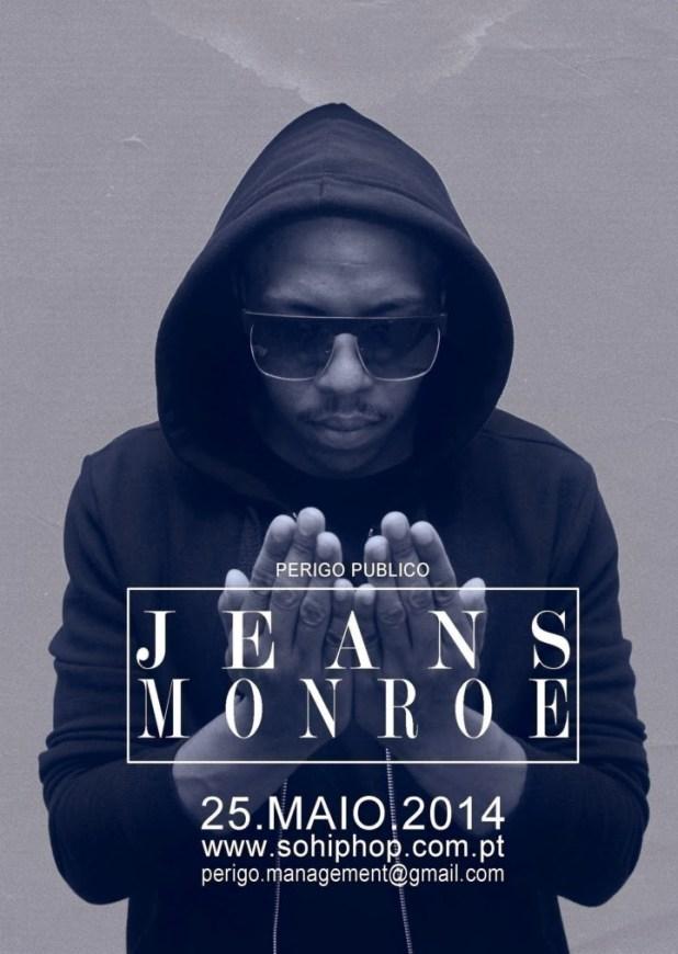"""Perigo Público  -  EP """"Jeans Monroe"""" a 25 de Maio"""