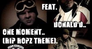 Single: Red Venom Ft. Craig G & Donald D - One Moment