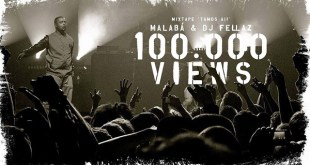 Áudio: Malabá & Dj Fellaz - 100.000 Views